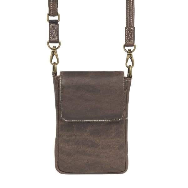 GTM Original Distressed Leather Compact Concealed Carry Smart Phone Case - Hiding Hilda, LLC