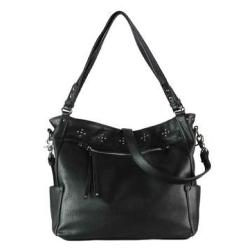 Lady Conceal Roomy Brooklyn Locking Conceal Carry Hobo to Crossbody Purse - Hiding Hilda, LLC