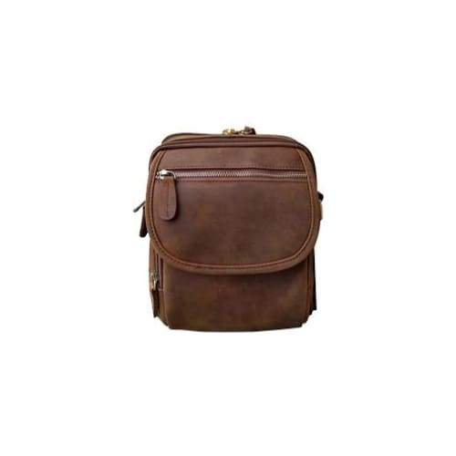 Leather Compact Concealment Square Bag by Roma Leather - Hiding Hilda, LLC