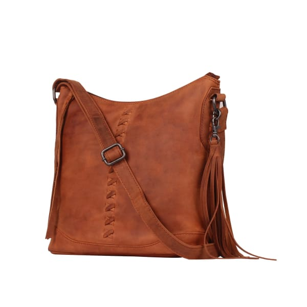 New Blake Cute Concealed Carry Scooped Leather Crossbody Purse by Lady Conceal - Crossbody