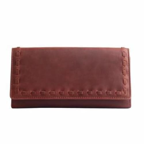 Hope RFID Leather Laced Wallet by Lady Conceal - NEW! - Hiding Hilda, LLC