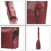 NEW Just Juliana Leather Concealed Carry Hobo Purse - Hobo