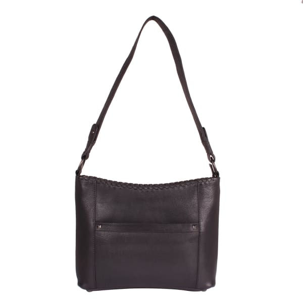NEW Just Juliana Leather Concealed Carry Hobo Purse - Black - Hobo