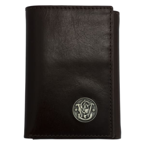 NEW Smith and Wesson Leather Tri-Fold Wallet - Hiding Hilda, LLC