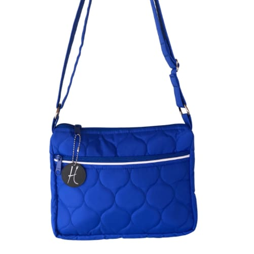 NEW Tomi Cute Compact Concealed Carry Crossbody Purse *Made in America - Royal Blue - New Color! - Crossbody