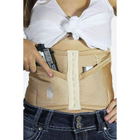 Petite Natural Concealed Carry Corset by Dene Adams - Hiding Hilda, LLC