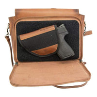 S & W Leather NEW Dynamic Leather Concealed Carry Crossbody Purse - Hiding Hilda, LLC