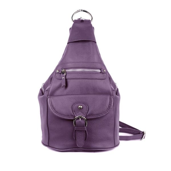 Snap Buckle Lockable Convertible CCW Backpack - NEW Color! - Hiding Hilda, LLC