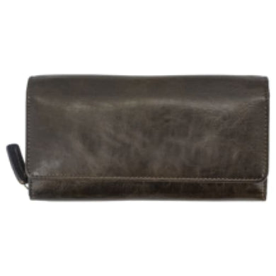 Thalia Wallet - Juno Leather Series by Cameleon - HidingHilda, LLC