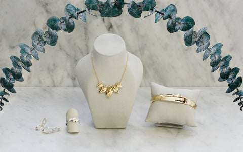 Select pieces from the Solstice and Juniper Collections
