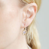 Star Wall Dangle Earring