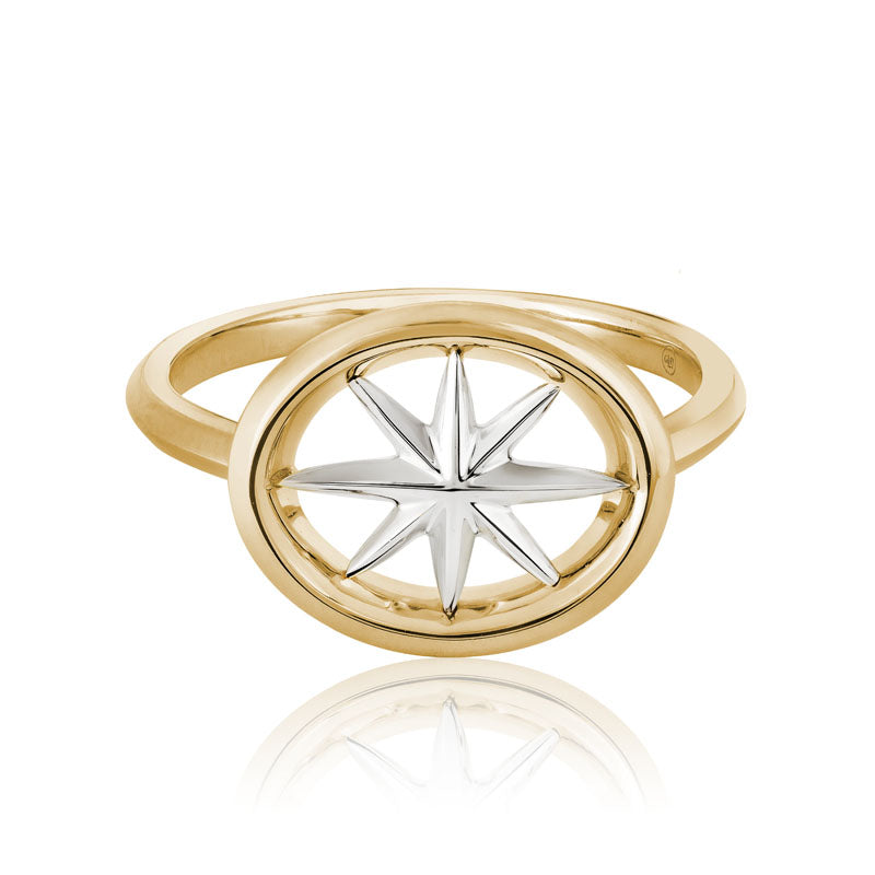 Star Wall Design Ring