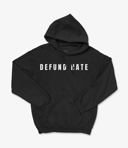 DFEUND Hate Black Hoodie