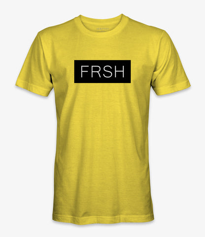 FRSH Yellow/Black Tee