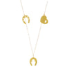 Extra Love Extra Luck Trio Necklace