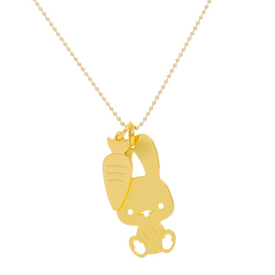 Bunny Good Luck Necklace