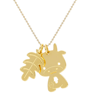 Cow Good Luck Necklace