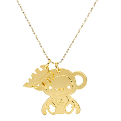 Monkey Good Luck Necklace