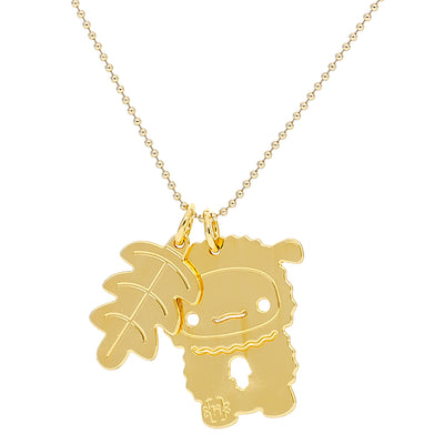 SHEEP GOOD LUCK NECKLACE