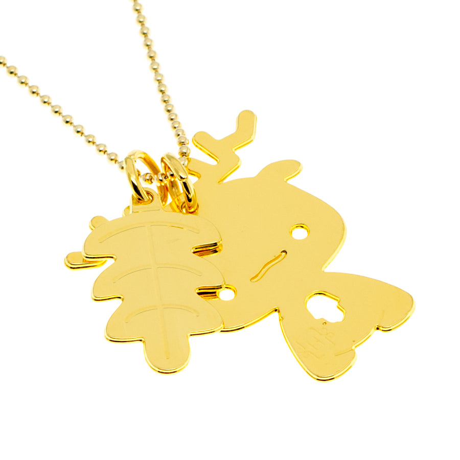 Deer Good Luck Necklace