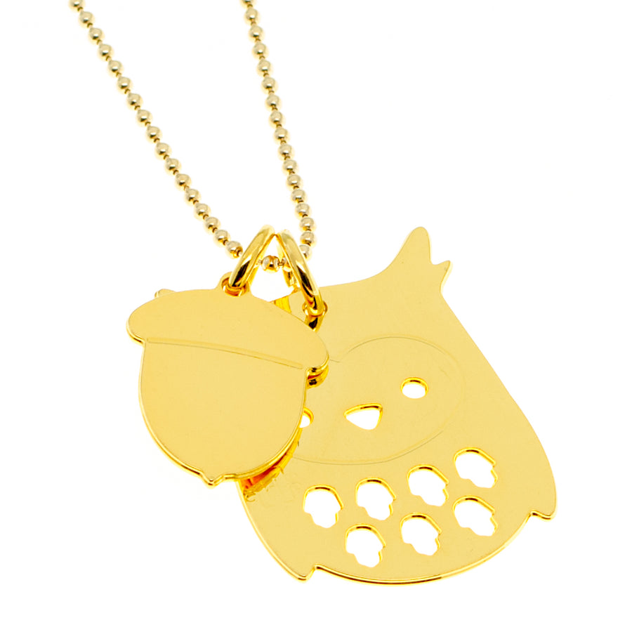 Owl Good Luck Necklace