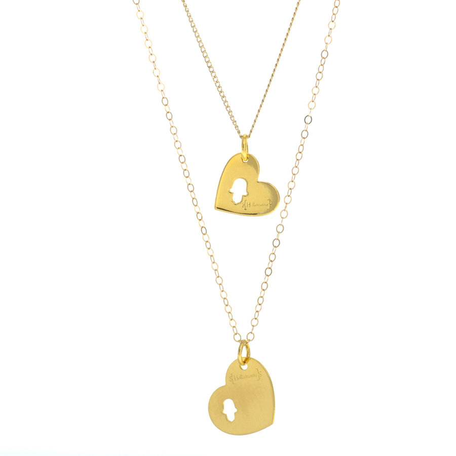 Mama+Me Gold Necklaces