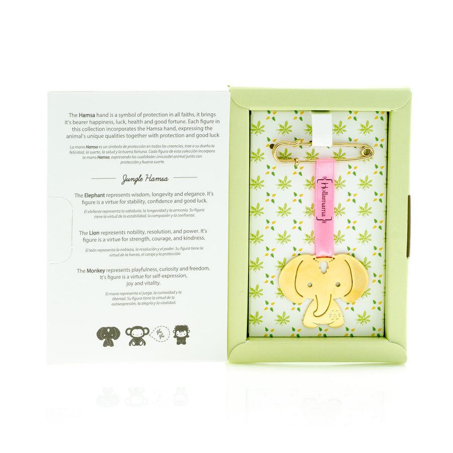 Lion baby gift set hollamama elephant baby gift set negle Images