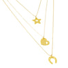 Extra Love Extra Luck Layered Necklaces