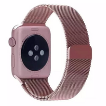 316L Stainless Steel Handmade Smart Apple Watch Strap iwatch i Metal Rose Gold Strap SmartWatch band 38 42mm custom Watchband Bracelet