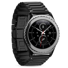 316L Stainless Steel Black Handmade Smart Samsung Gear s3 Moto360 Watch Strap