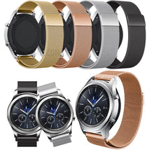 316L Stainless Steel Milanese Black Silver Rose Gold Handmade Smart Samsung Gear s3 Moto360 Watch Strap Rose Gold Strap SmartWatch band custom Watchband Bracelet