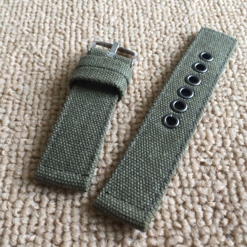 Handmade  Nylon Strap NATO Denim gray green Top Gun IWC Timex Rolex Seiko Hamilton Daniel Wellington Panerai DW strap watch band 20 22 mm custom made