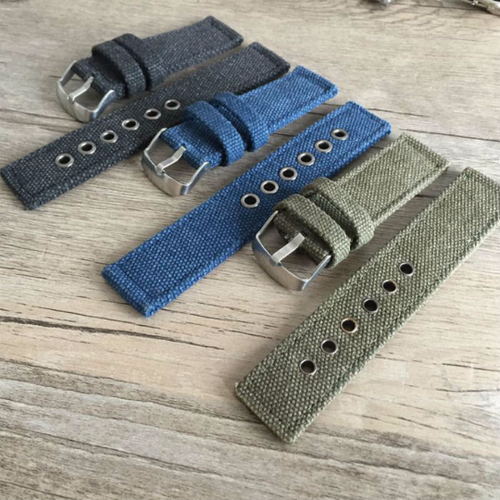 Handmade Gray Nylon Strap NATO Denim Top Gun IWC Timex Rolex Seiko Hamilton Daniel Wellington Panerai DW strap watch band 20 22 mm custom made
