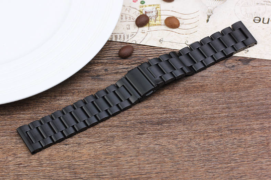 Metal Stainless steel 316L Handmade Smart Fitbit Blaze Watch Strap Black Colorful Clasp colorful Buckie SmartWatch custom Watchband