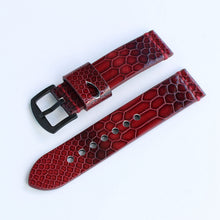 New Arrival Handmade IWC Rolex Seiko Hamilton Panerai Nato Real Cow Leather + transparent rubber Strap watch band custom made