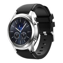 New Arrival Handmade Samsung Gear s3 silicone Rubber Strap watch band custom made 22mm
