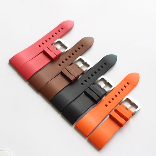 New Arrival Handmade Suunto Seiko Rolex silicone Rubber Strap watch band custom made 20mm 22mm 24mm