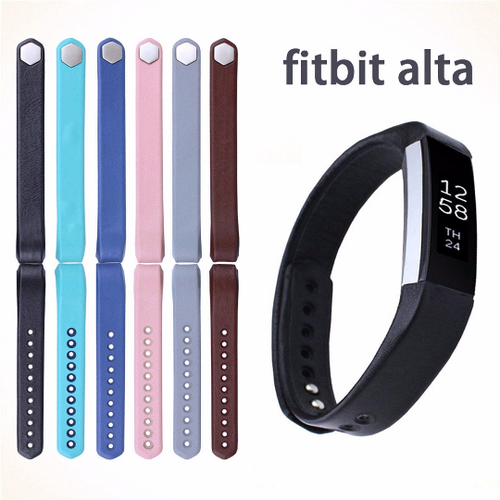 Silicone sports Handmade Smart Fitbit Alta Watch Strap red black pink white gray Blue Color colorful Buckie SmartWatch custom Watchband