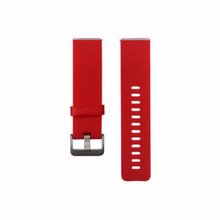 Silicone sports Handmade Smart Fitbit Blaze Watch Strap Double sided 11 color orange red Clasp colorful Buckie SmartWatch custom Watchband