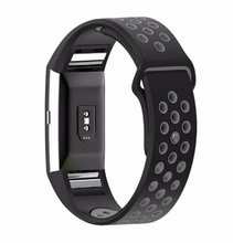 Silicone sports Handmade Smart Fitbit Charge 2 Watch Strap colorful Black Gray color Magnetic SmartWatch band custom Watchband Fit Bit