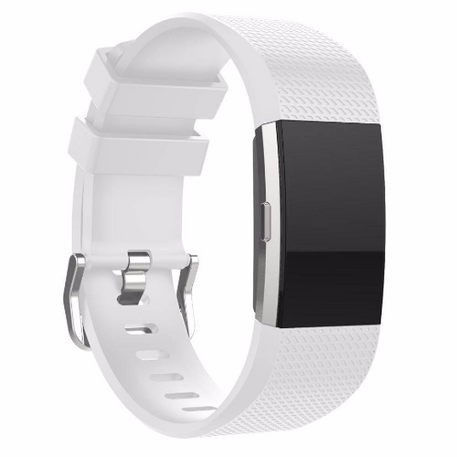 Silicone sports Handmade Smart Fitbit Charge 2 Watch Strap White colorful Loop Magnetic SmartWatch band custom Watchband Fit Bit