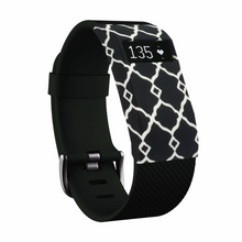 Silicone sports Handmade Smart Fitbit Charge Watch Strap grid black white Flower Color colorfu cover covers case SmartWatch custom Watchband