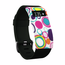 Silicone sports Handmade Smart Fitbit Charge Watch Strap rainbow Flower Color colorfu cover covers case SmartWatch custom Watchband