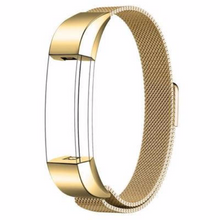 Stainless Steel Handmade 316L Smart Fitbit Alta Watch Strap Milanese Gold Color colorful cover covers case SmartWatch custom Watchband