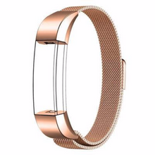 Stainless Steel Handmade 316L Smart Fitbit Alta Watch Strap Milanese Rose Gold Color colorful cover covers case SmartWatch custom Watchband