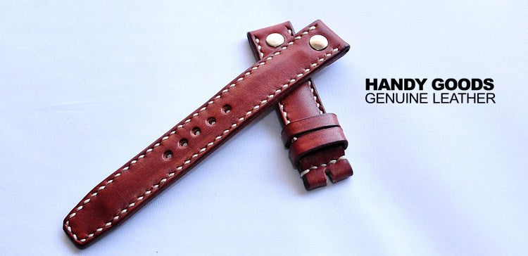 New Arrival Japan Handmade For IWC Rolex Seiko Hamilton Omega Panerai Classic Real Cow Leather Strap Watch Band Tailor Made