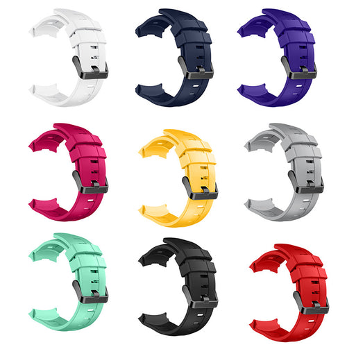 New Arrival Handmade silicone Rubber Strap Fit For SUUNTO AMBIT3 VERTICAL  Smartwatch watch band custom made
