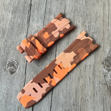 New Arrival Handmade silicone Rubber Strap Fit For SevenFriday AP Audemars Piguet Royal Oak watch band custom made