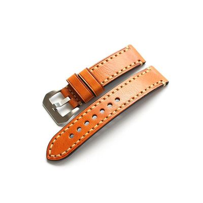 New Arrival Handmade Rolex Seiko Panerai Real Cow Leather Strap watch band custom made 18 19 20 21 22 23 24 26MM