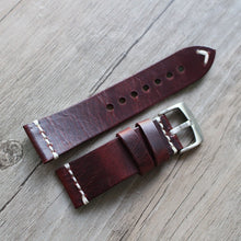 New Arrival Handmade Rolex Seiko Panerai Real Cow Leather Strap watch band custom made 18 20 21 22 23 24 MM